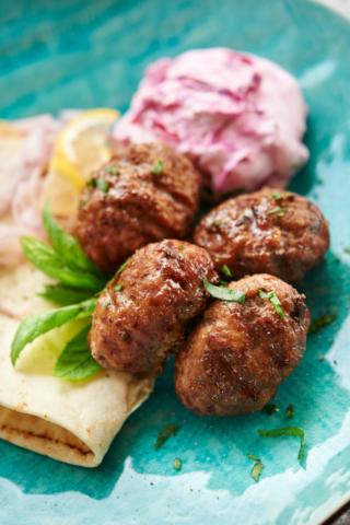 Meatballs closeup